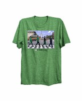 The Boston Sports Apparel Boston Celtics Green Line 2018 T-Shirt Large Green
