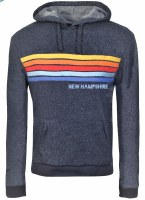 Brew City Happy Stripe Hoody S Navy