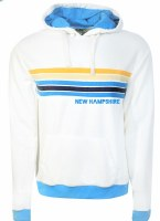 Brew City Happy Stripe Hoody M White