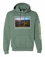 The Rugged Mill 4000 Footer Hoodie S Heather Sport Dark Green