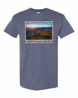 The Rugged Mill 4000 Footer S/S Tee S Heather Denim