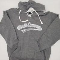 Luba Designs New Hampshire Hockey Hoodie Small Grey