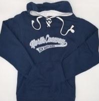 Luba Designs New Hampshire Hockey Hoodie Small Navy