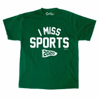 Sully's Tees I Miss Sports S/S Tee L Green