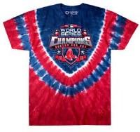 Liquid Blue Red Sox 2018 World Series Champions T-Shirt Small Tye Dye