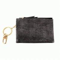 Joy Susan Python Keychain Cardholder Cardholder Black