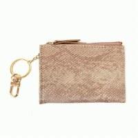Joy Susan Python Keychain Cardholder Cardholder Light Copper