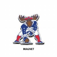 Woods & Sea Minute Moose Wooden Magnet N/A Minute Moose