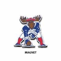 Woods & Sea Minute Moose Tin Magnet N/A Minute Moose