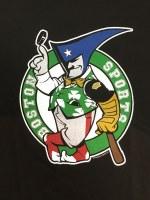 The Boston Sports Apparel Mr. Pissah T-Shirt Large Black
