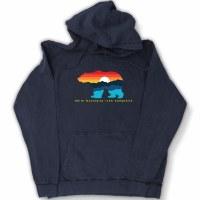 Duck Co. Mountain Bear Vintage Hoodie Medium Vintage Denim