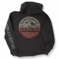 Duck Co. Mountain Quality White Mountains, New Hampshire Hoodie S Vintage Black