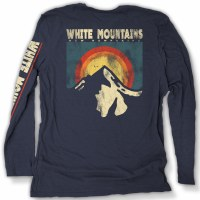 Duck Co. Mountain Summit Long Sleeve Tee XS Heather Navy