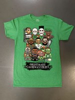 The Boston Sports Apparel Nightmare On Causeway T-Shirt XX-Large Green