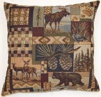 Creative Home Furnishings Northwoods Pillow 17x17 Multi