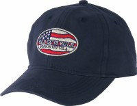 Old Guys Rule Born In The USA Cap One Size Navy