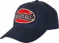 Old Guys Rule Better Oval Cap One Size Navy