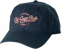 Old Guys Rule Authorized Expert Cap One Size Navy