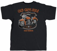Old Guys Rule Road Warrior S/S Tee M Black