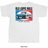Old Guys Rule Just Classic S/S Tee M White