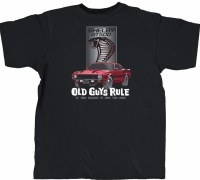 Old Guys Rule Shelby GT500 S/S Tee M Black