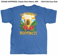 Old Guys Rule Hoppieness S/S T XL Iris