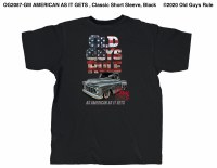 Old Guys Rule American As It Gets (general m XL Black