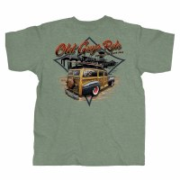Old Guys Rule Classic Woodie M Military Green