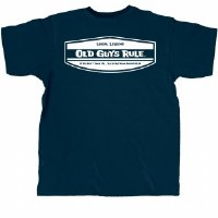 Old Guys Rule Local Legend S/S Tee Medium Navy