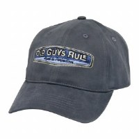 Old Guys Rule Rear View Cap One Size Slate