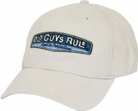 Old Guys Rule Rear View Cap One Size Stone