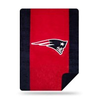 "Denali New England Patriots Microplush Throw 60""x50"" Patriots"
