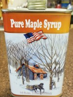 Turkey Street Maples New Hampshire Pure Maple Syrup Pint Tin