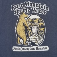 Duck Co. Pure Water Bear S/S Tee Small Heather Charcoal