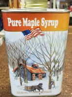 Turkey Street Maples New Hampshire Pure Maple Syrup  Quart Tin