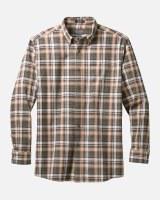 Pendleton Somerset Button Down Shirt Medium Green/Tan/Brown Plaid