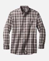 Pendleton Somerset Button Down Shirt Large Grey/Brown/Navy Plaid