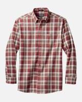 Pendleton Somerset Button Down Shirt Medium Red/Tan/Brown Plaid