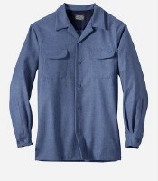 Pendleton Board Shirt  M Blue Mix