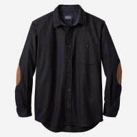 Pendleton Solid Trail Shirt Large Black