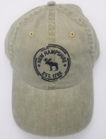 Royal Resortwear Moose Broken Circle Ball Cap One Size Olive