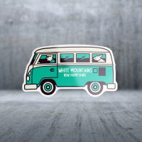 Sticker Pack VW Dog Bus Decal  Small