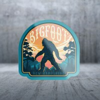 Sticker Pack Bigfoot Walking Across Decal Small