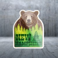 Sticker Pack Hide & Seek Bear Decal Small