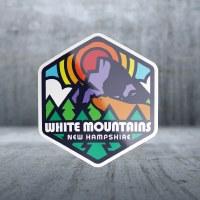 Sticker Pack Rainbow Badge Yosemite Decal Small