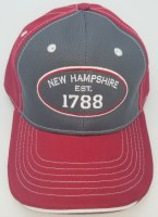 Royal Resortwear New Hampshire Established 1788 Ball Cap One Size Red