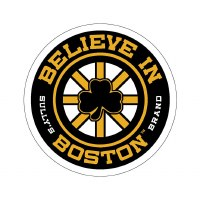 Sully's Tees Believe In Boston Bumper Sticker N/A N/A