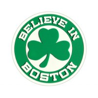 Sully's Tees Green Shamrock Believe In Boston Magnet N/A N/A