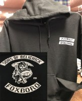 FBG Sons of Belichick Hoodie Small Black