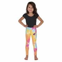 Puppie Love Tie Dye Youth Leggings S/M Multi